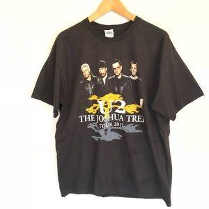 U2 NWOT The Joshua Tree Tour 2017 Concert t-shir L